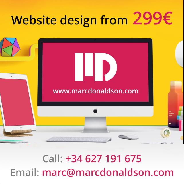 Marc Donaldson - Costa Blanca Website Design