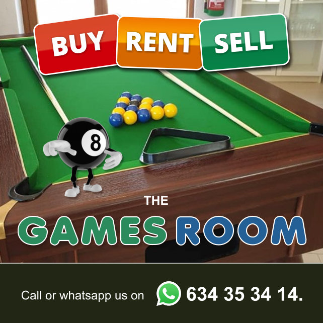 The Games Room - Buy, Sell, Rent Pool Tables