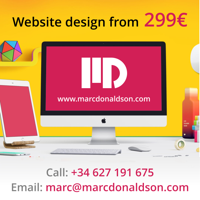 Marc Donaldson - Costa Blanca Website Design